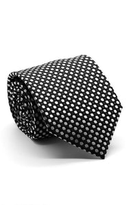 Black and White Sonoma Necktie