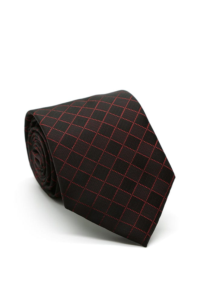 Red and Black Willows Necktie