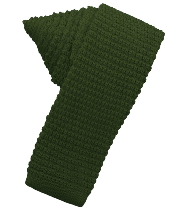 Hunter Knit Skinny Tie