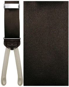 """Sicily"" Brown Suspenders"