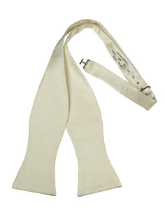 Ivory Noble Silk Bow Tie