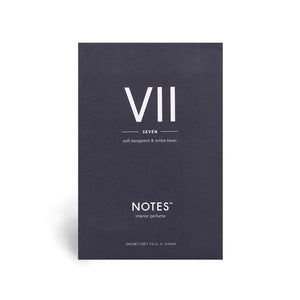 Sachets parfumés Notes