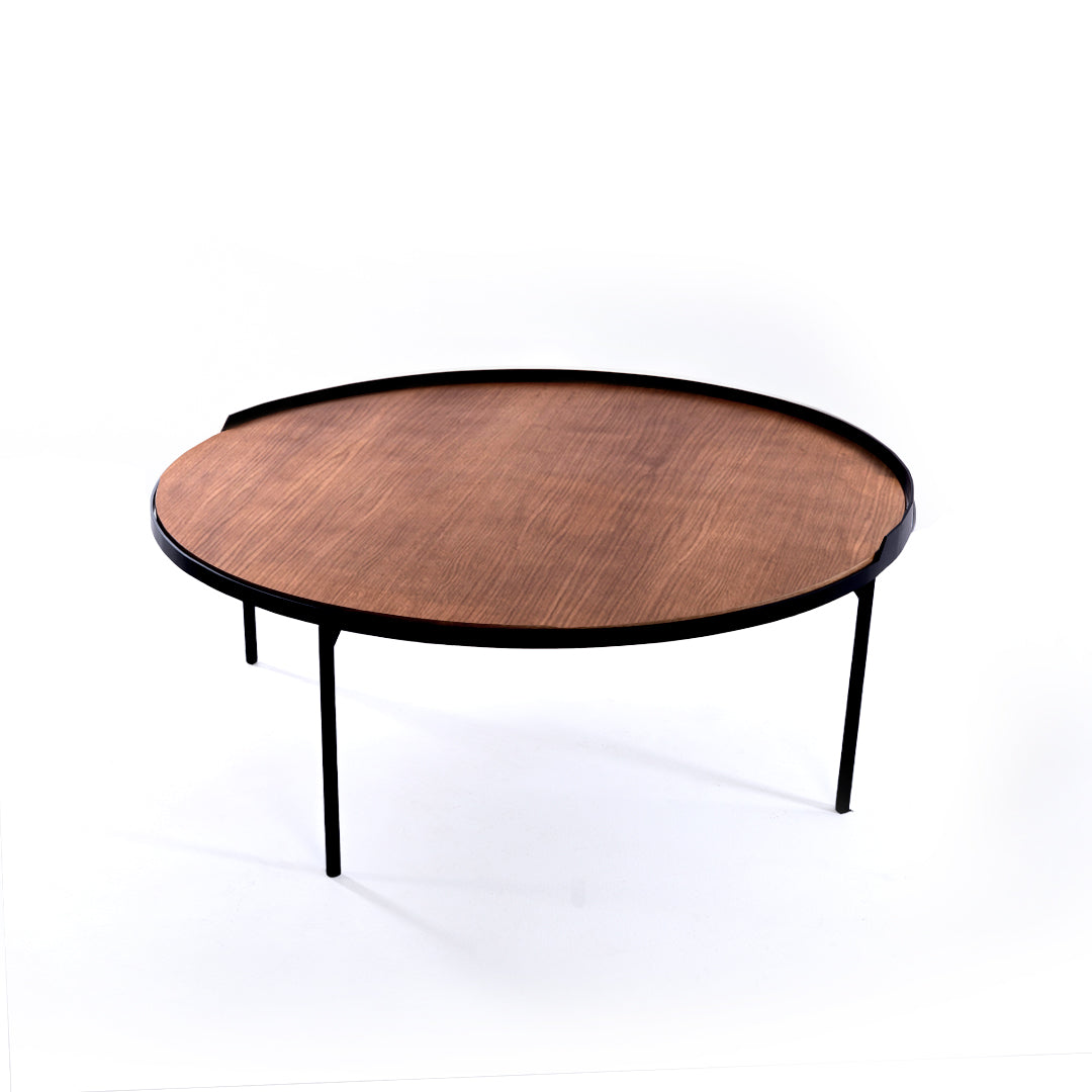 Table basse ronde « OPUS »