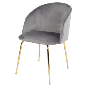 Chaise Lupin Grise
