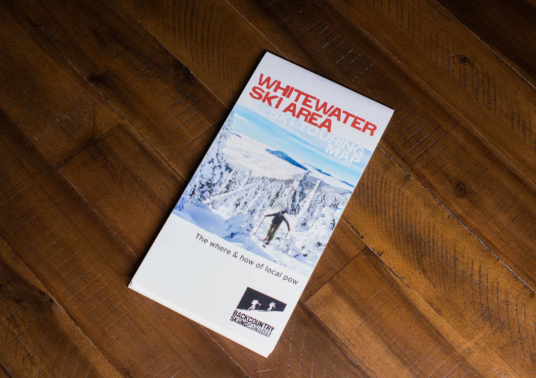 Whitewater Ski Resort Ski Touring Map