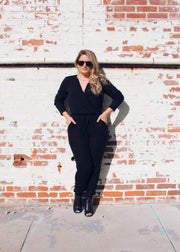 Easy Going Pocketed Jumpsuit