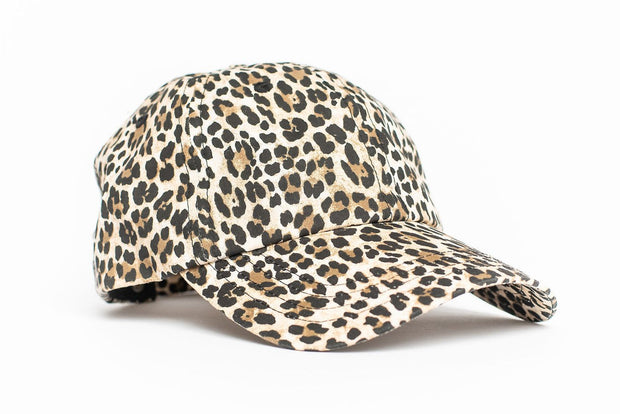 Toddler + Baby Leopard Print Hat