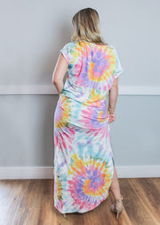 Pocket Full of Sunshine Tie-Dye Maxi Dress