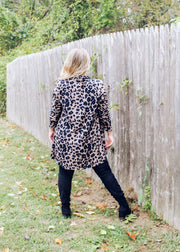 Hear Me Roar Leopard Cardigan