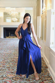 One & Done Royal Blue Jumpsuit