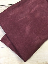 Load image into Gallery viewer, Wine Faux Leather Cotton Lycra