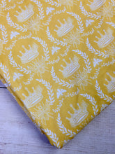 Load image into Gallery viewer, Clearance Cotton Spandex Yellow Crowns