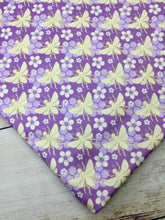 Load image into Gallery viewer, Purple Bees Polyester Interlock