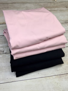 Pale Blush Pink Cotton Spandex Jersey 12oz