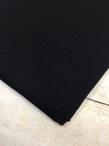 Black Cotton Spandex Jersey 12oz