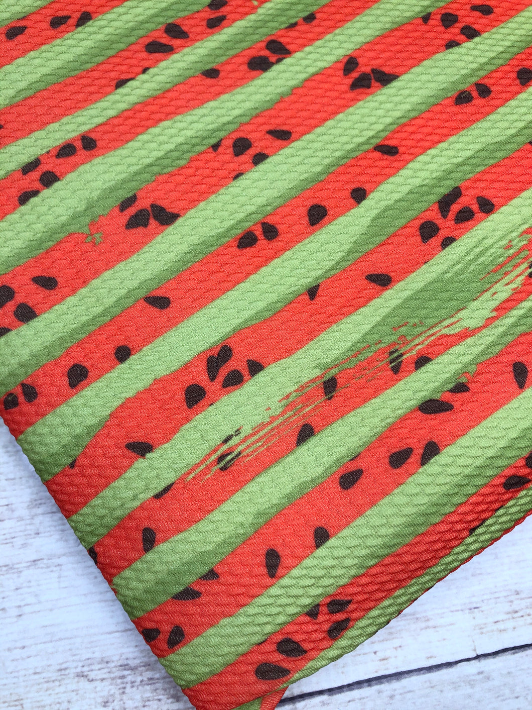 Red and Green Watermelon Stripes Bullet