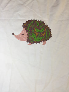 Zen Hedgehog Cotton Spandex Panel
