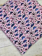 Load image into Gallery viewer, Pink Dino's Cotton Lycra
