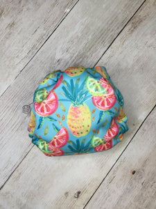Tropical Fruit Polyester Interlock
