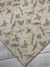 Load image into Gallery viewer, Butterflies and Dragonflies Cotton Spandex