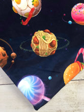 Load image into Gallery viewer, Food Planets Stretch Minky