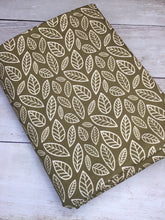 Load image into Gallery viewer, Clearance Cotton Spandex Olive Green Leaves