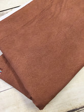 Load image into Gallery viewer, Light Brown Faux Leather Cotton Lycra