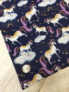 Mystic Unicorns Polyester Interlock