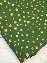 Load image into Gallery viewer, Gold Dots Cotton Lycra