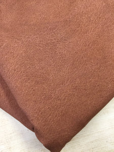Light Brown Faux Leather Cotton Lycra
