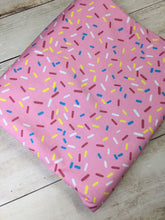 Load image into Gallery viewer, Pink Sprinkles Cotton Spandex