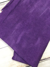Load image into Gallery viewer, Purple Faux Leather Cotton Lycra
