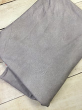 Load image into Gallery viewer, Light Grey Faux Leather Cotton Spandex