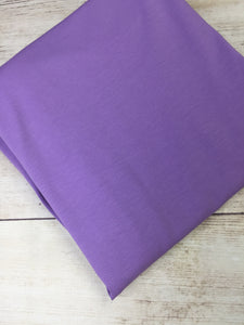 Lavender Cotton Lycra Jersey 12oz