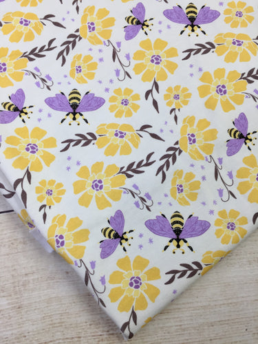 Bee Garden Cotton Lycra