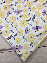 Load image into Gallery viewer, Bee Garden Polyester Interlock