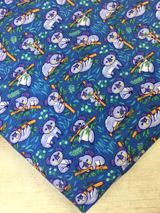 Blue Koalas Cotton Spandex