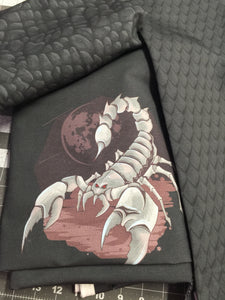 Scorpion Cotton Lycra Panel