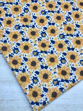 Load image into Gallery viewer, Yellow and Navy Sunflowers Bullet
