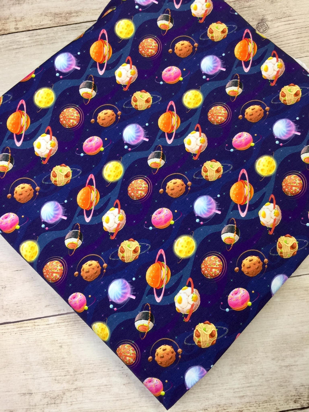 Small Food Planets Cotton Lycra