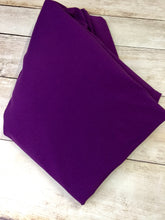 Load image into Gallery viewer, Dark Purple Cotton Lycra Jersey 12oz