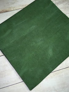 Green Faux Leather Cotton Lycra