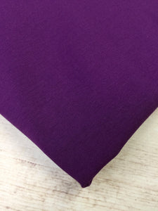 Dark Purple Cotton Spandex Jersey 12oz