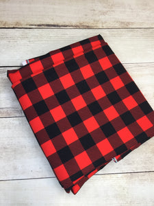 Red Buffalo Plaid Cotton Spandex