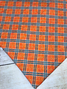 Fall Plaid French Terry