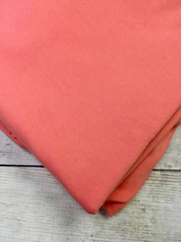 Coral Cotton Spandex Jersey 12oz