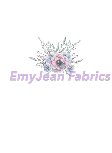 Winter Floral 2 Cotton Spandex Panel