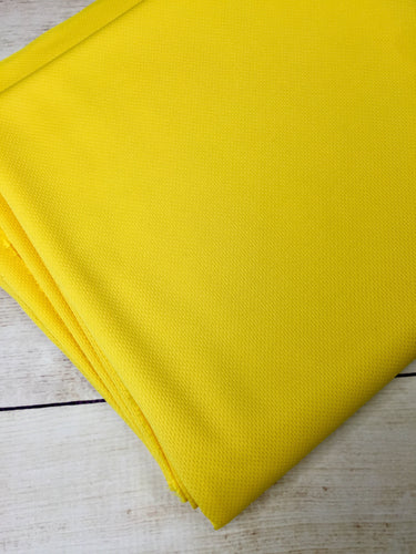 Lemon Yellow Wicking Jersey