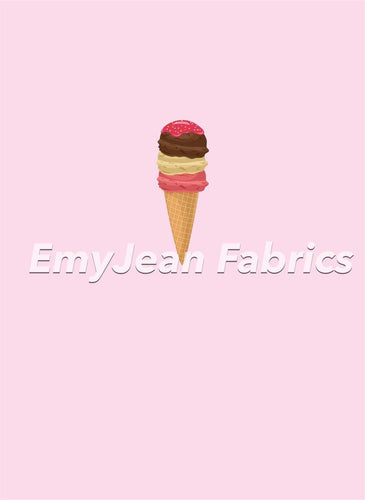 Ice Cream 1 Cotton Spandex Panel