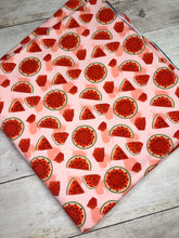 Load image into Gallery viewer, Pink Watermelon Slices Bamboo Lycra